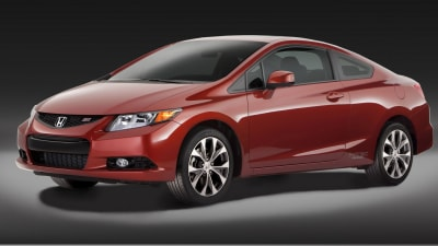 ANCAP 5 Stars: 2012 Honda Civic, Hyundai Veloster