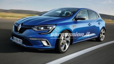 2016 Renault Megane – First Leaked Images