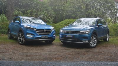 Family SUV Battle - Hyundai Tucson v Volkswagen Tiguan Comparison Test REVIEW