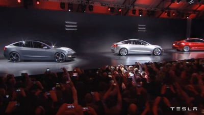 Tesla Model 3 - Wheels And Colours The Only Initial Options