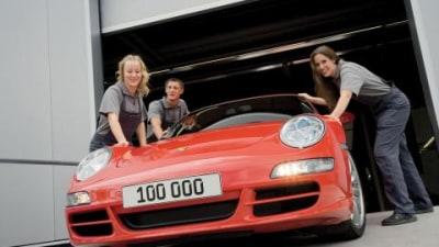 Porsche 997 production reaches 100k