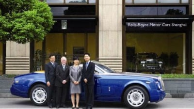 Rolls Royce opens new Shanghai showroom on the back of record sales