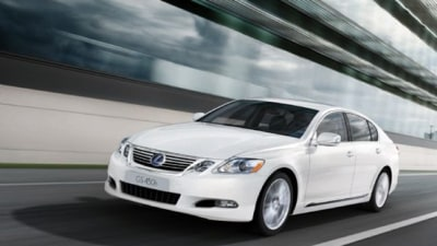2010 Lexus GS Range Gains Styling, Safety And Technology Updates, Available November