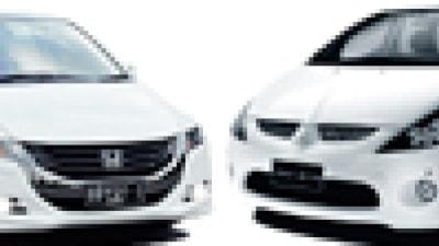 Head to Head: Honda Odyssey v Mitsubishi Grandis VRX