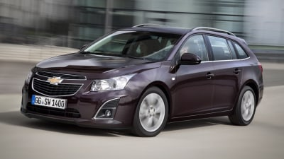 Holden Cruze Wagon Revealed Further