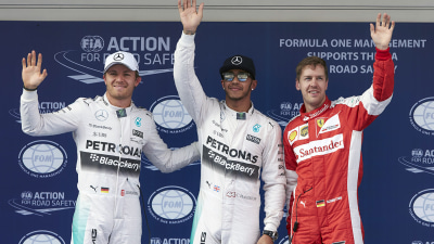 2015 Chinese F1 GP: Hamilton Wins, Rosberg Fumes
