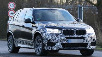 2014 BMW X5 M Spied Testing