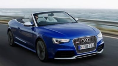 Audi RS5 Cabriolet new car review