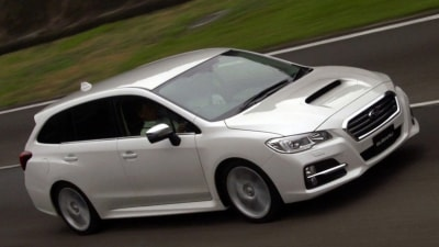 2016 Subaru Levorg Australian Range Details Surface - WRX Power, CVT Only
