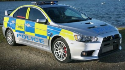 South Yorkshire Police Welcome Mitsubishi Evo X To The Force