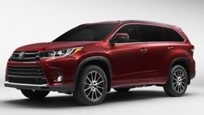 Toyota previews facelifted Kluger SUV