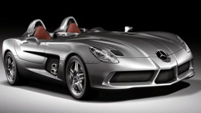 2009 McLaren SLR Stirling Moss To Debut In Detroit