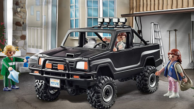 Great Scott! Marty McFly's 'Back to the Future' Toyota HiLux now available as a Playmobil set