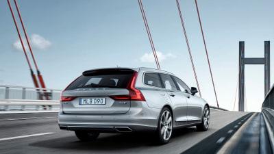 Volvo V90 Makes Official Debut