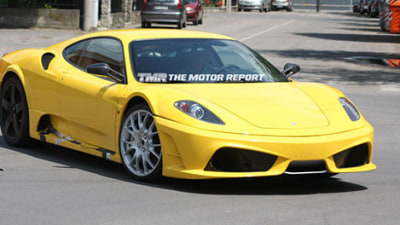 2010 Ferrari F450 Mule Spy Shots Reveal Revised Rear Diffuser, Centre Exhaust Outlet?