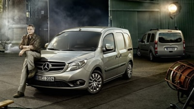 Mercedes-Benz Citan Pulls MacGyver Out Of Retirement: Video