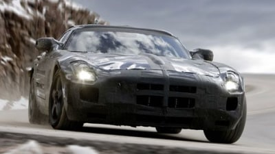 Mercedes-Benz SLS AMG: Undercover And On Camera