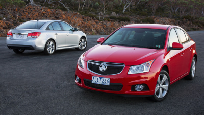 2013 Holden Cruze Sedan And Hatch On Sale In Australia