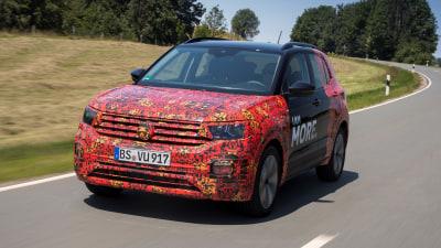 2019 Volkswagen T-Cross prototype review