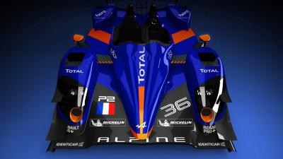 2013 Alpine Le Mans Racer Revealed