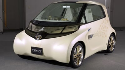 Toyota FT-EV II Electric Vehicle Concept: Tokyo Motor Show
