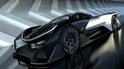 Faraday Future FFZERO1 Concept Revealed - More Than 746kW