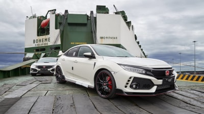 2018 Honda Civic Type R Hits Aussie Shores