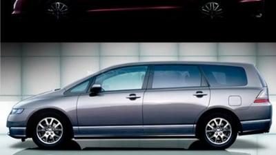 2009 Honda Odyssey Teaser Shot Revealed