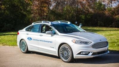 Ford Next-Gen Autonomous Development Vehicle to Make CES Debut