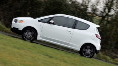 Mitsubishi TWR Walkinshaw Colt Ralliart On The Way In The UK
