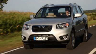 2010 Hyundai Santa Fe Receives New Engines, Transmissions: Coming To Australia In Q4 2009
