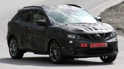 2014 Nissan Dualis Spied Testing