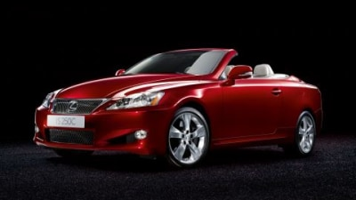 2009 Lexus IS250 C Prepares For A Topless Summer In Europe
