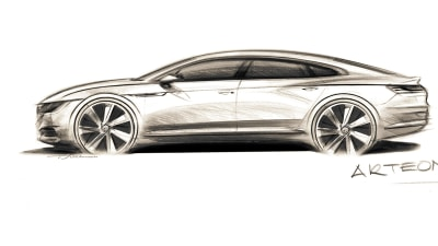 2017 Volkswagen Arteon Teased | New Flagship Due Late 2017