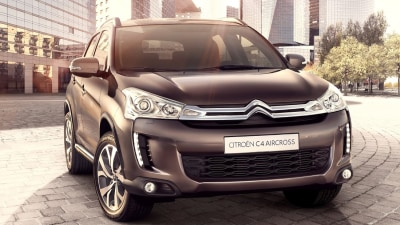Citroen C4 Aircross Revealed Ahead Of Early 2012 Debut