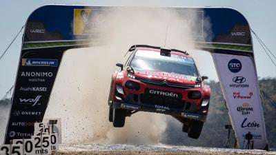 Motorsport: Citroen toughs it out in WRC Mexico