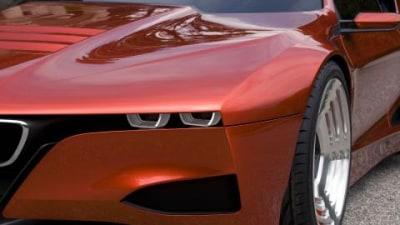 BMW Hommage M1 concept videos