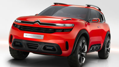 Citroen Aircross Concept Revealed Ahead Of Shanghai Debut