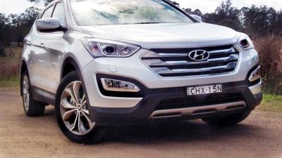 2013 Hyundai Santa Fe Active, Elite And Highlander Launch Review