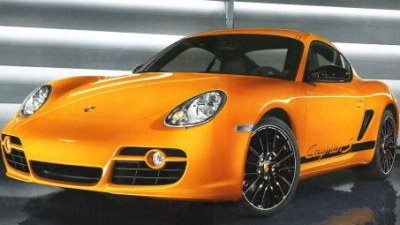 Porsche Cayman S Sport Spied?