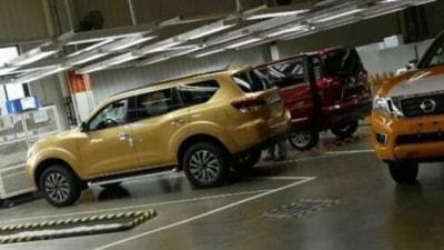 Heavy Duty Nissan Navara-Based SUV Spied In China