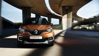 Updated Renault Captur revealed