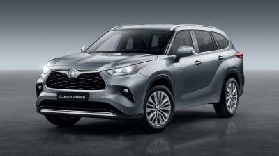 Toyota Kluger Hybrid confirmed for Australia