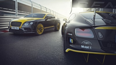 Bentley Continental 24 Celebrates Nurburgring 24-Hour Return