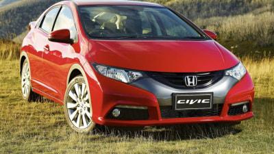 2015 Honda Civic Hatch Range Drops Diesel Option