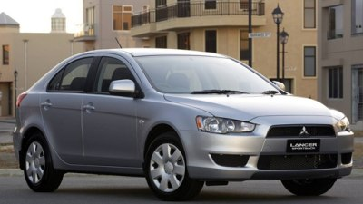 2010 Mitsubishi Lancer Gains Side And Curtain Airbags Across Range
