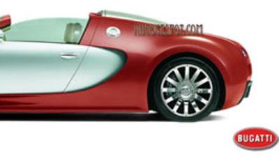 Bugatti Veyron - topless at 350km/h