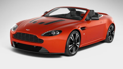 Aston Martin V12 Vantage Roadster Breaks Cover