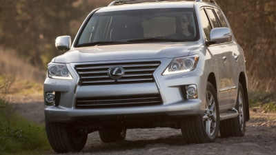 2012 Lexus LX 570 Update In Australia By Second Quarter