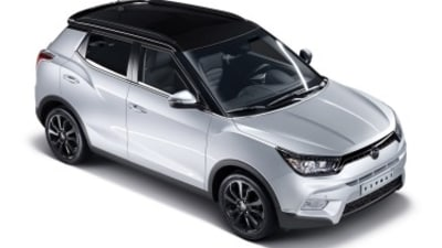 Ssangyong unveils Tivoli compact SUV